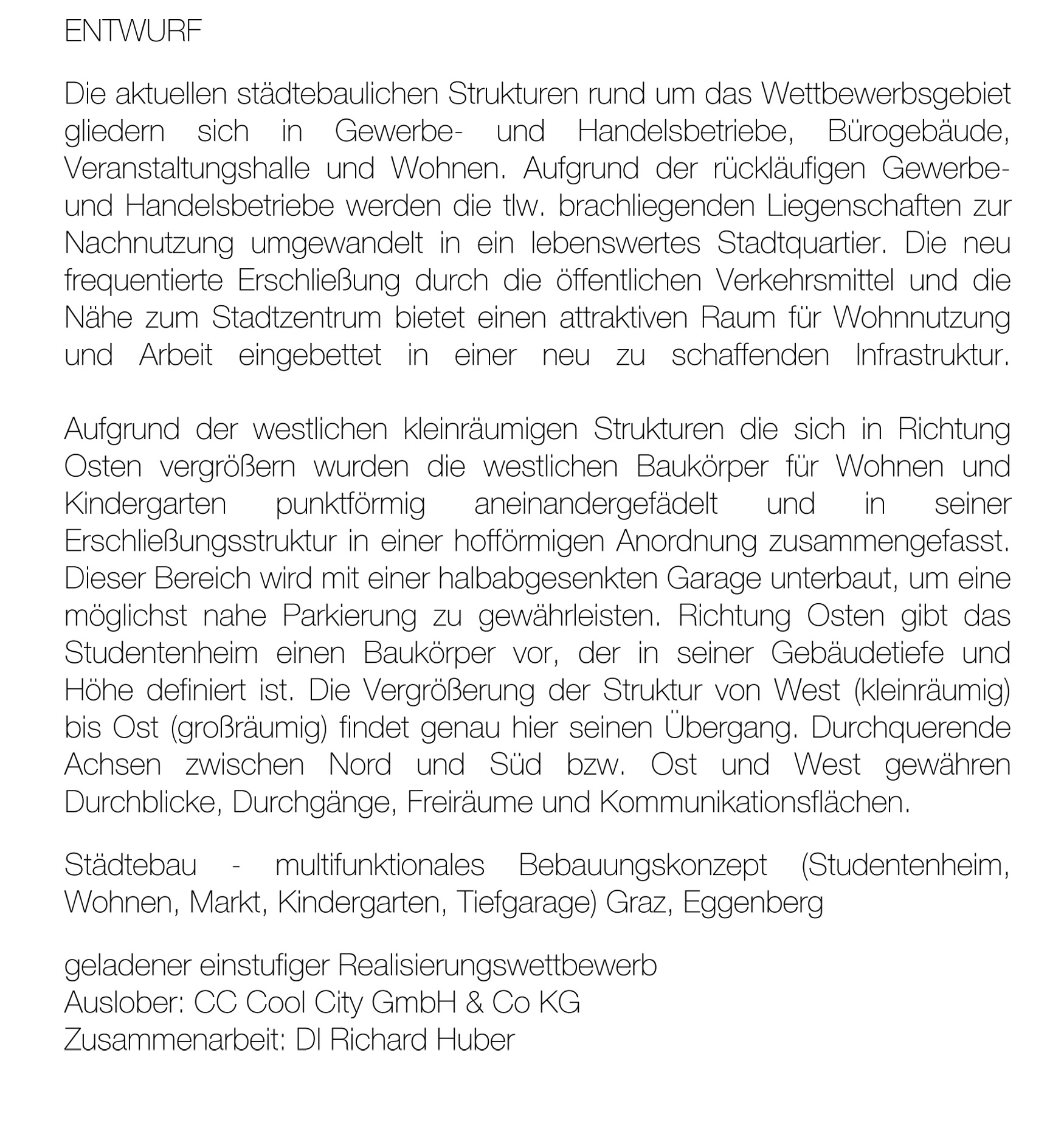 Entwurf WB CC Graz